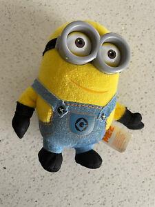 "Despicable Me 2 Minion Plush Toy 5.5"" 14cm Thinkway Universal Illumination"