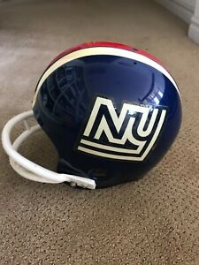 New York Giants NFL Football helmet game worn used 1975