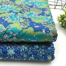 50*40cm Handmade Fabric Floral Style 100%Cotton Cloth DIY Doll Clothes Patchwork