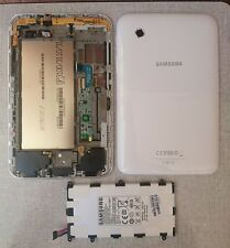 SAMSUNG GT-P3100 Lcd Display Touch Frame Batteria Cover Flex Suoneria ORIGINALE
