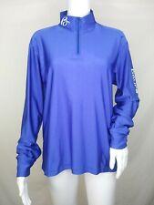 Boure Cycling Jersey Medium M long sleeve blue mens womens unisex