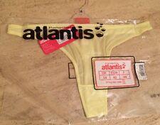 Panache atlantis new T-shirt thong size 12 colour lemon RRP £8