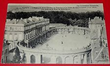 CARTE POSTALE 1910-1920 NANCY HEMICYCLE  CARRIERE PEPINIERE PALAIS GOUVERNEMENT