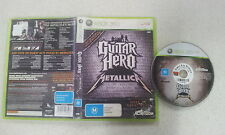 Guitar Hero Metallica Xbox 360 PAL Version