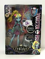 "NIB MONSTER HIGH ""13 Wishes"" Lagoona Blue Doll~Good Condition!-2012"