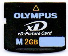 Olympus 2 GB XD Picture Card - (m-xd2gbm3) made in Japan da TOSHIBA