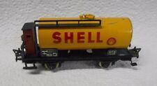Fleischmann Germany HO 1465 Shell Tank Car With Brakeman's Cabin No Box