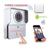 VIDEO CITOFONO IP CONNESSIONE WIFI 2,4G WIFI601 SMARTPHONE ANDROID IOS DORBELL