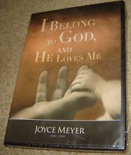 I BELONG TO GOD, AND HE LOVES ME DVD, NEW AND SEALED, JOYCE MEYER, REGION 1