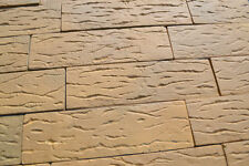 18 pezzi di Plastica stampi ANTICHI IMPIALLACCIATURA del MATTONE di cemento#W03
