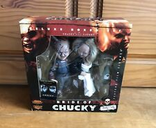 Bride Of Chucky Deluxe Figure Boxed Set McFARLANE Toys Movie Maniacs Series 2
