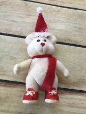Soma Christmas Bear Red White 1986 Decor Holiday