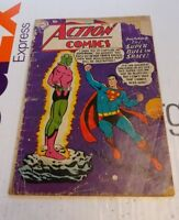 Action Comics #242 1st Appearance of Brainiac!  Excellent for your collection!