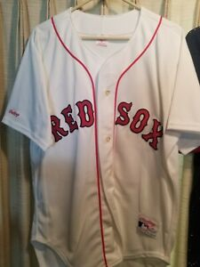 MLB NWOT VTG WADE BOGGS BOSTON RED SOX RAWLINGS JERSEY (sz44)  ⚾️⚾ white home