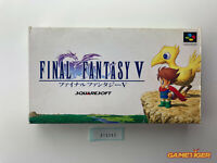 FINAL FANTASY V 5 Nintendo Super Famicom SFC JAPAN Ref:315393
