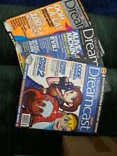 Official Sega Dreamcast Magazine Issue 3,4,5