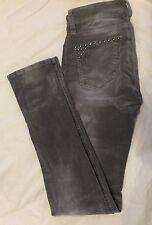 BLANK NYC Skinnie Classique Gray Studded Corduroy Jeans - Skinny - Size 25 NWT