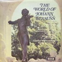 Strauss(Vinyl LP)The World Of-Decca-SPA 10-UK-VG-/VG