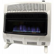 Mr. Heater F299330 Blue Wall Heater, Vent-Free, White, 30,000 BTU, For 1,000 Sq.