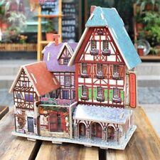 1:24 Diy Miniatures Dollhouse France Hotel Furniture Kit Birthday Xmas Gifts