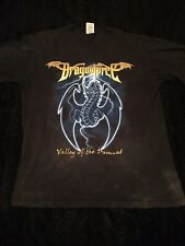 Mens Medium Dragonforce Valley Of The Damned T Shirt Vintage 2003