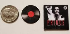 "Miniature record album Barbie 1/12 1"" Dollhouse Figure Prince  Rock the Hits"