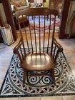 Nichols & Stone Co. Vintage Windsor Adult Rocking Chair Maple Brown