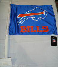 NFL NWT CAR WINDOW FLAG - BUFFALO BILLS