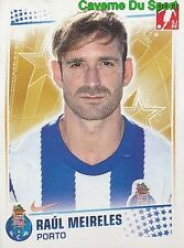 212 RAUL MEIRELES PORTUGAL FC.PORTO Liverpool FC STICKER FUTEBOL 2011 PANINI