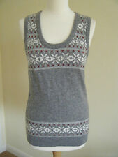 Wool Scoop Neck Tank Tops for Women