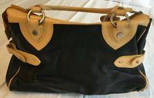 VALENTINA Mocha Brown Leather Large Purse Bag-NICE