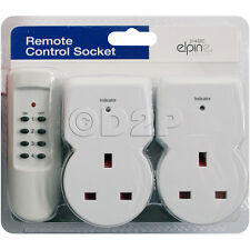 Remote Control Socket Wireless Switch Home Mains UK Plug AC Power Outlet