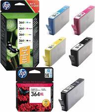 XL 5x HP Original 364 TINTE PATRONEN C5400 C6300 C6324 C6380 D5445 D5460 D5463