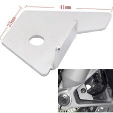 Silver Front Wheel Speed Sensor Protector Guard Cover For BMW R1200GS 2013-2017