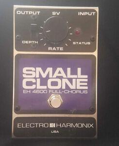Stunning Electro Harmonix Small Clone Chorus FX pedal Nirvana