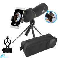 AOMEKIE Spotting Scope 25-75X70 Monocular Telescope With Tripod & Phone Adapter