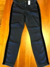 NWT Women's Soma Tuxedo Slimming 5 Pocket Indigo Denim Jeggings, Small Regular