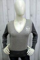 LA MARTINA Donna Taglia M Maglione Sweater Lana Pullover Woman Pull Maglietta