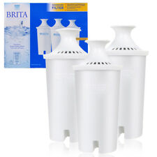 3 Lot Genuine Brita Water Filter Pitcher Advanced Replacement Filters Retail Box