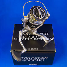 Shimano 15 TWIN POWER 4000HG, Spinning Reel Made In Japan, 033727
