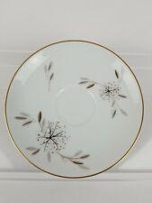 Dot Floral Gray Dinner Plate HELENE 5602 Noritake China Made in Japan