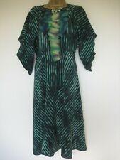BCBG Maxazaria green silk vintage dress size 6-8?