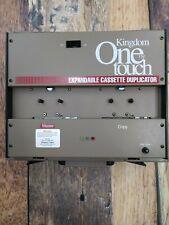 Kingdom Inc One Touch Portable Expandable Cassette Tape Duplicator KT2M w/ Cord