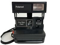 Vintage Polaroid 600 One Step Flash Instant Camera Excellent Shape Made In UK