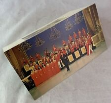 Original 1971 Lawrence Welk Show TV Christmas Card With Punch Out Calendar