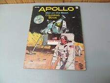 Vintage 1969 Apollo Man on the Moon – Space Age Coloring Book