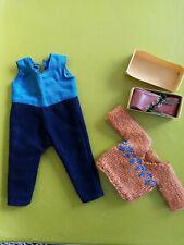 authentique tenu du ski G L poupée Bleuette chaussures pull combinaison