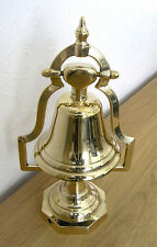 Italian Cast Brass Table Bell on Stand