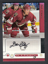 Dan Cleary 2005-06 UD Be A Player Auto Card