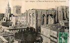 CPA 84 AVIGNON le palais des papes vu tour de jacquemard